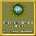 Awarded for any donation made to Buffalo Airways Virtual