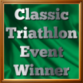 Classic Triathlon Event winner