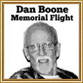 Dan Boone Memorial Flight 2012