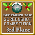 3rd Place - Screenshot Competition! (December 2010)