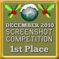 1st Place - Screenshot Competition! (December 2010)
