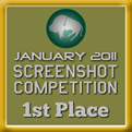 1st Place - Screenshot Competition! (January 2011)