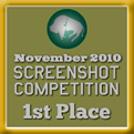 1st Place - Screenshot Competition! (November 2010)