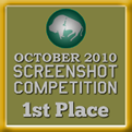 1st Place - Screenshot Competition! (October 2010)