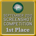 1st Place - Screenshot Competition! (September 2010)