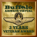 Awarded to members who have been part of Buffalo Airways Virtual for 2 years