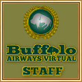 Issued To Staff Members of Buffalo Airways Virtual