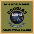 DC-4 World Tour Award for those who completed in time frame