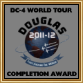 DC-4 World Tour Award for anyone who completes after time frame