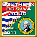 BC & WA Tour, April 2011