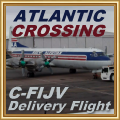 Transatlantic delivery flight of Electra C-FIJV