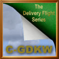 C-GDKW Delivery Flight Series