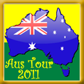 Awarded to members who completed the Aussie Tour in March, 2011!