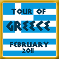 Awarded to members who completed the Greek Tour in February, 2011