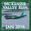 Awarded upon completion of McKenzie Valley Run Jan 2016