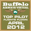 APR 2012 - TOP FLIGHTS FLOWN