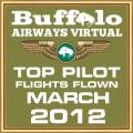 MAR 2012 - TOP FLIGHTS FLOWN