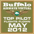 MAY 2012 - TOP FLIGHTS FLOWN
