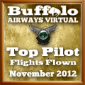 November 2012 Top Flights award