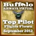 September 2012 Top Flights award