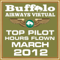 MAR 2012 - TOP HOURS FLOWN