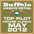 MAY 2012 - TOP HOURS FLOWN