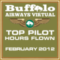 FEB 2012 - TOP HOURS FLOWN