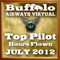 July 2012 Top Hours Award