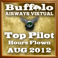 August 2012 Top Hours Award