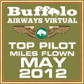 MAY 2012 - TOP MILES FLOWN