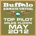 MAY 2012 - TOP MILES FLOWN