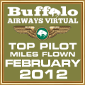 FEB 2012 - TOP MILES FLOWN