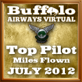 July 2012 Miles Flown Award