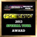 Awarded to pilots who participate in the FSC Weston Live Overload tour in May 2013