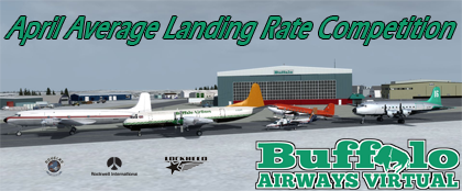 April Average Landing Rate Competition