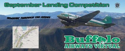 September Landing Competition