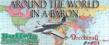 Around the World in a Baron