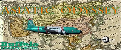 Vatsim Tour - Asiatic Odyssey - Pt 1