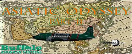 Vatsim Tour - Asiatic Odyssey - Pt 2