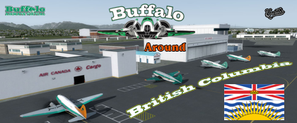 Buffalo around British Columbia