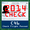 C-46 Check Flight 2014