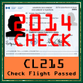 CL215 Check Flight 2014