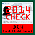DC-4 Check Flight 2014
