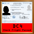 DC-4 Check Flight Award