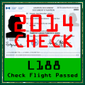 L-188 Check Flight 2014