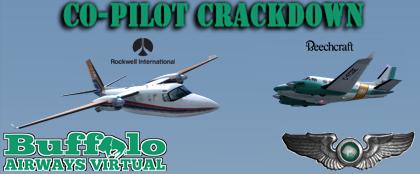 Co-pilot Crackdown