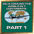 DC-3 AROUND THE WORLD IN 7 CONTINENTS PART 1 AWARD