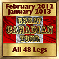 Great Canadian Tour Gold Award