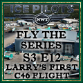 Larry's First C46 Flight