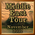 Middle East Tour Award November 2012